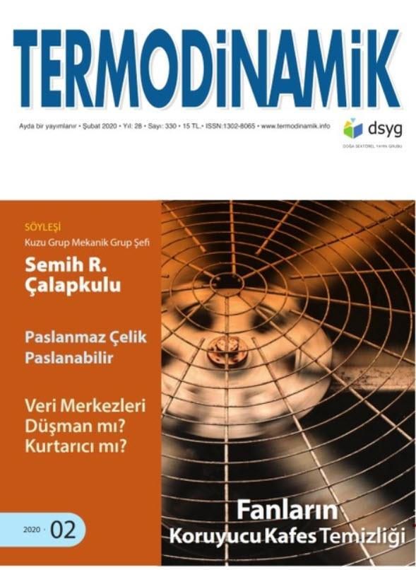Termodinamik - Şubat 2020
